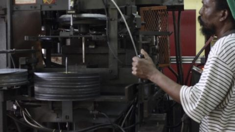 Jamaica's Oldest Vinyl Records Plant Is Back In Action