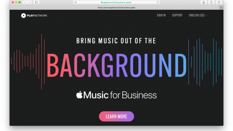 APPLE MUSIC DISPONIBILIZA PLANO DE ASSINATURAS DESTINADO À EMPRESAS